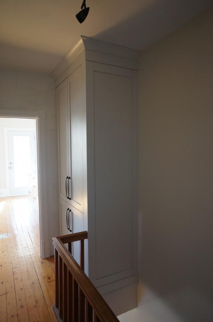 Linen closet built in 2